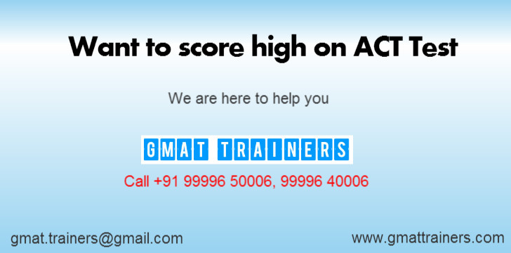 ACT SAT Coaching Institute Training Centre Tutoring Academy Gurgaon