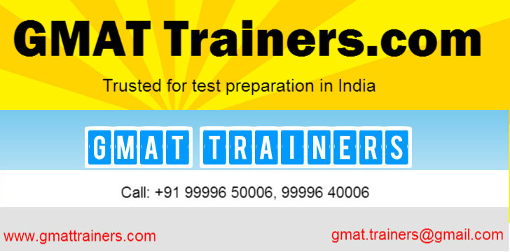 GMATtrainers.com-preparation coaching guidance online tutoring Delhi Gurgaon INDIA