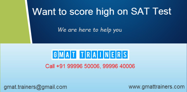 SAT-preparation coaching guidance online tutoring Delhi Gurgaon INDIA